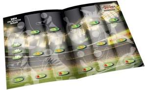 campo de jogo Adrenalyn XL Copa do Mundo 2014 Brasil