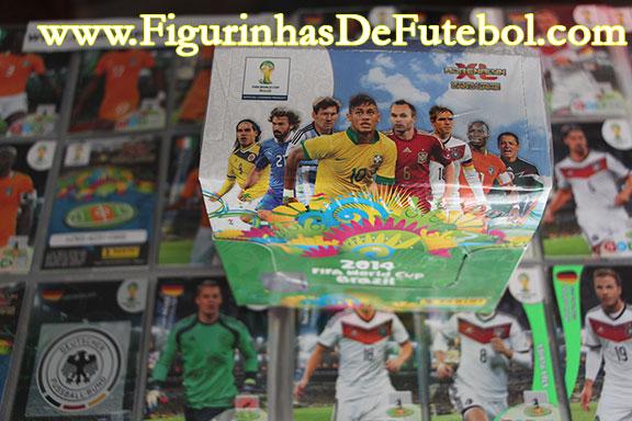 Adrenalyn XL World Cup Brasil caixa com 50 boosters