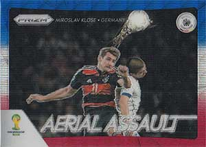 Prizm Card Aerial Assault World Cup Brasil 2014 Fifa