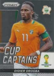 Prizm Card World Cup Captains Fifa Brasil 2014 soccer